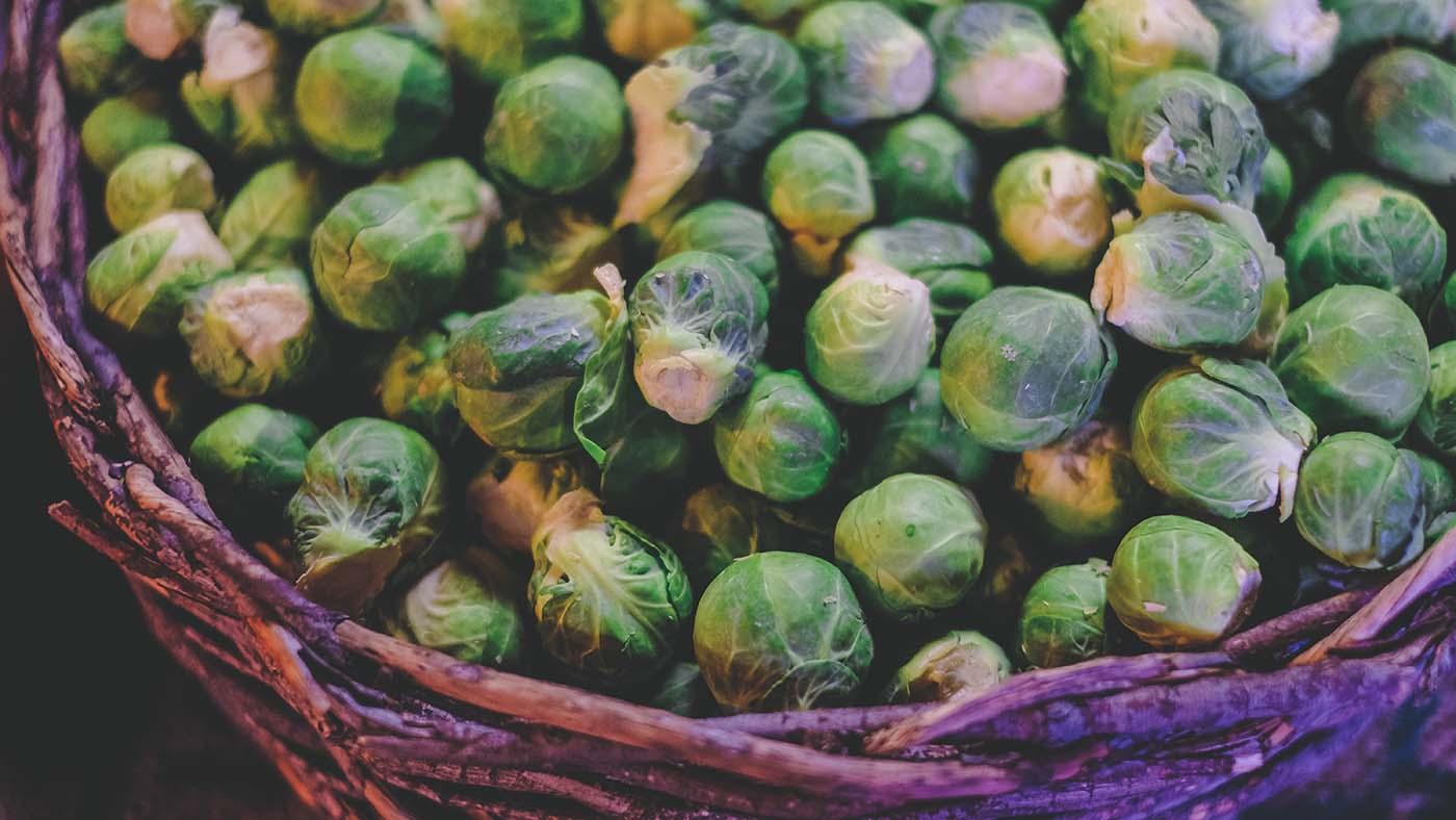 qué plantar en diciembre: coles de bruselas